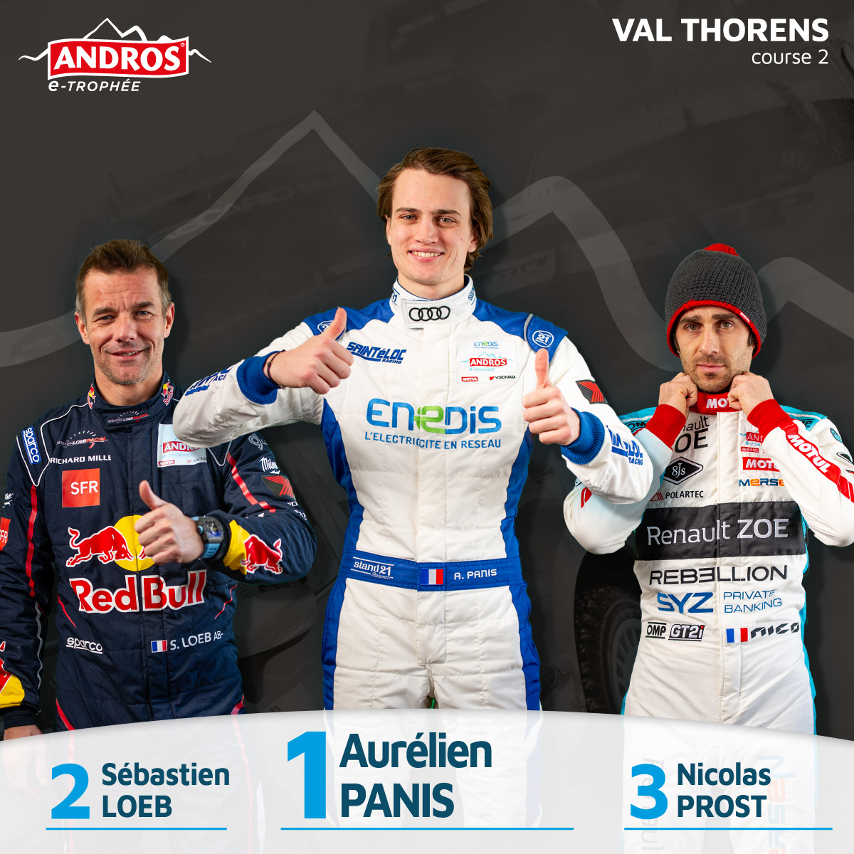 Visuel Winner PODIUM valtho 2